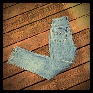 Gloria Vanderbilt Amanda flap pocket jeans, light